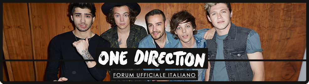 One Direction - Forum Ufficiale Italiano