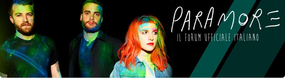 Paramore - Forum Ufficiale Italiano